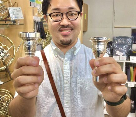 Brass Lab.MOMO チューバ 用マウスピース 新入荷情報!!