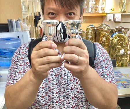 Brass Lab.MOMO チューバ 用マウスピース入荷♪